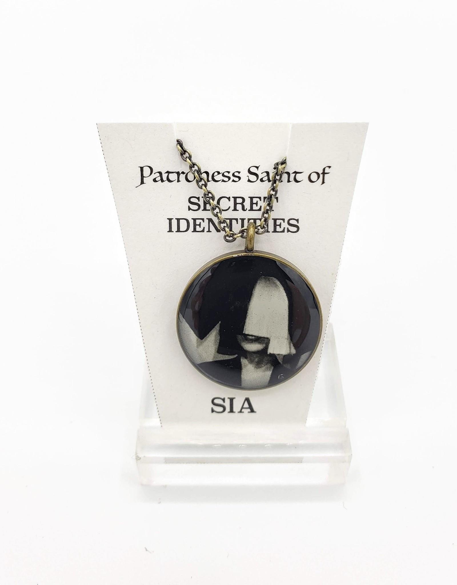 Redux Sia Patroness Saint Pendant Necklace