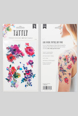 Tattly Florals by Helen Dealtry - Tattly Temporary Tattoo Pack