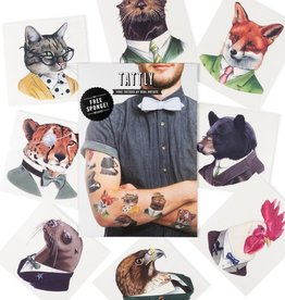 Tattly Animal Society by Berkley Illustration - Tattly Temporary Tattoo Pack