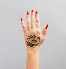 Tattly Avocado Flash  by Jessi Preston - - Tattly Temporary Tattoos (Pairs)