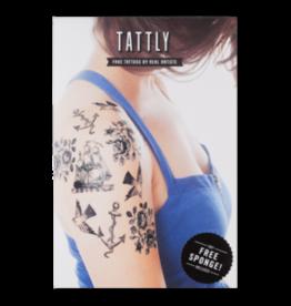 Tattly Nautical Set by Fiona Richards - Tattly Temporary Tattoo Pack