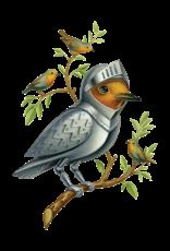 "Tattly ""Armored Bird"" by Chris Buzelli - Tattly Temporary Tattoos (Pairs)"