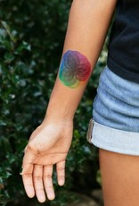 "Tattly ""Color Burst"" by Jessi Arrington - Tattly Temporary Tattoos (Pairs)"