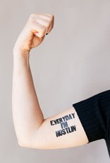 "Tattly ""Everyday I'm Hustling"" by Arianna Orland - Tattly Temporary Tattoos (Pairs)"