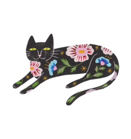 "Tattly ""Flower Cat"" by Estee Preda - Tattly Temporary Tattoos (Pairs)"