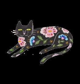 "Tattly ""Flower Cat"" by Estee Preda - Tattly Temporary Tattoos (Pairs)"