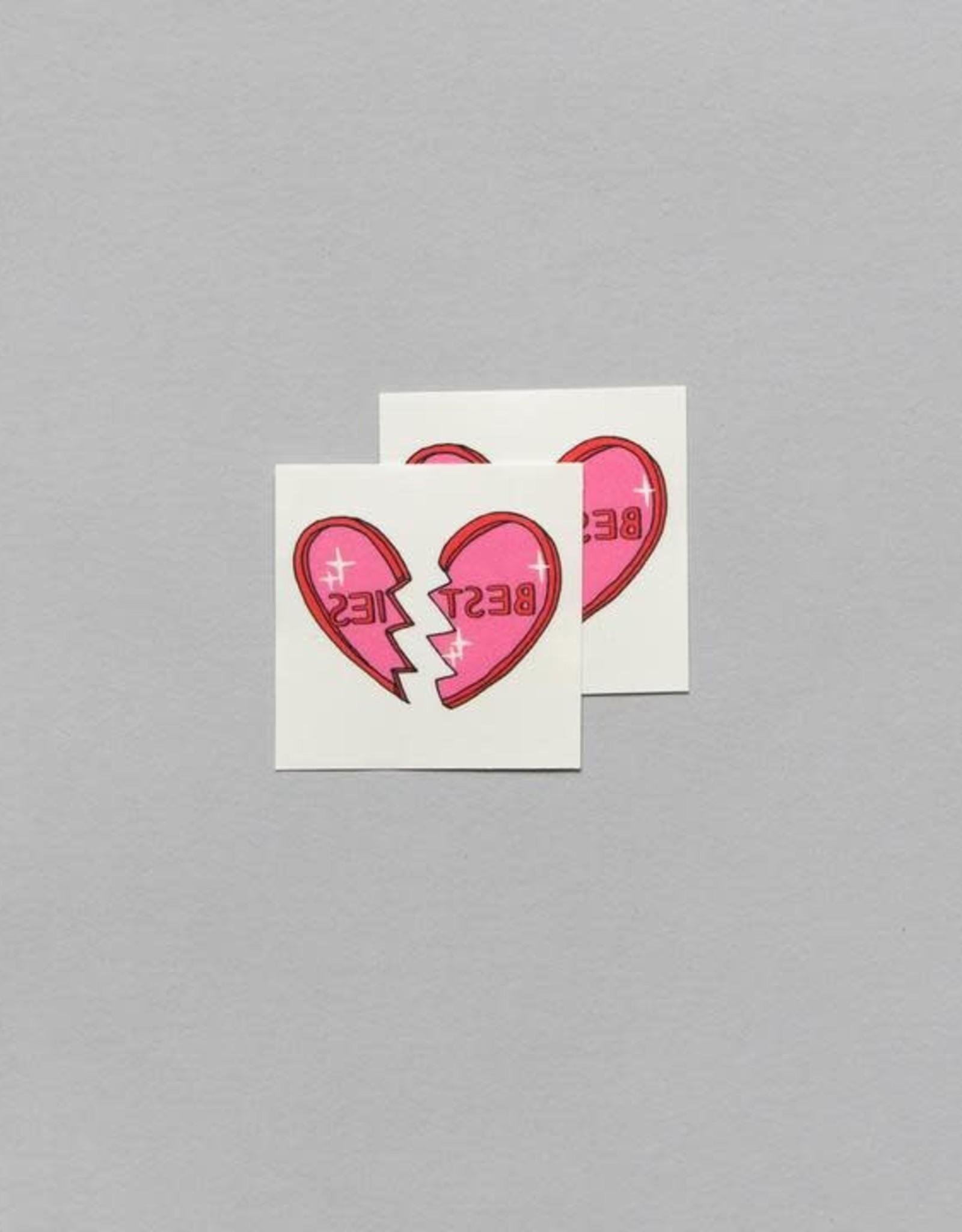 "Tattly ""Little Besties"" by Julia Rothman - Tattly Temporary Tattoos (Pairs)"