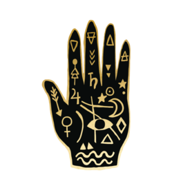 "Tattly ""Mystic Hand"" by Yellow Owl Workshop - Extra Tattly Temporary Tattoo (Pairs)"