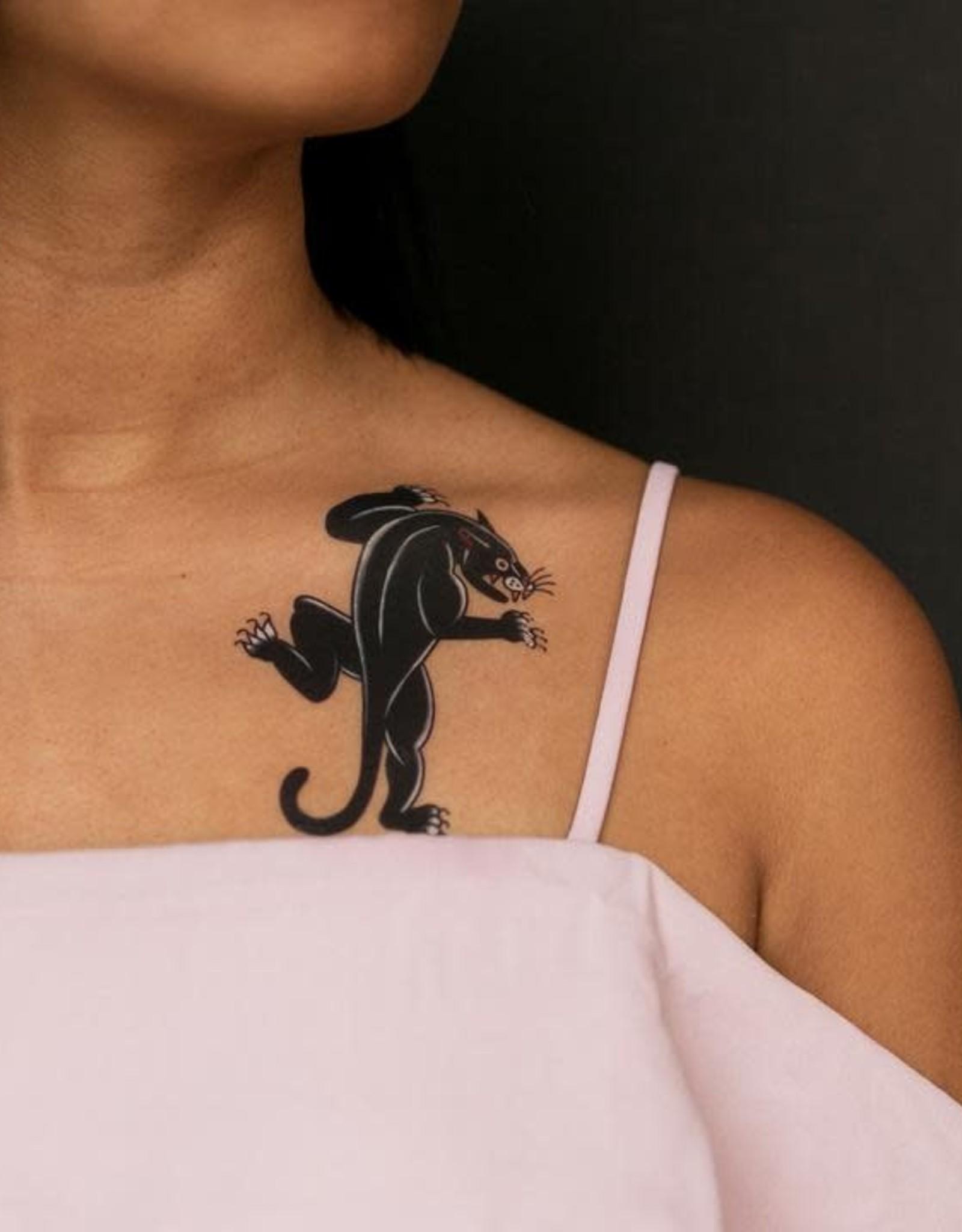 "Tattly ""Panther Flash"" by Jessi Preston - Tattly Temporary Tattoos (Pairs)"