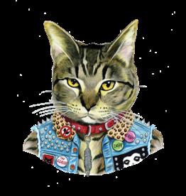 "Tattly ""Punk Cat"" by Berkley Illustration - Tattly Temporary Tattoos (Pairs)"