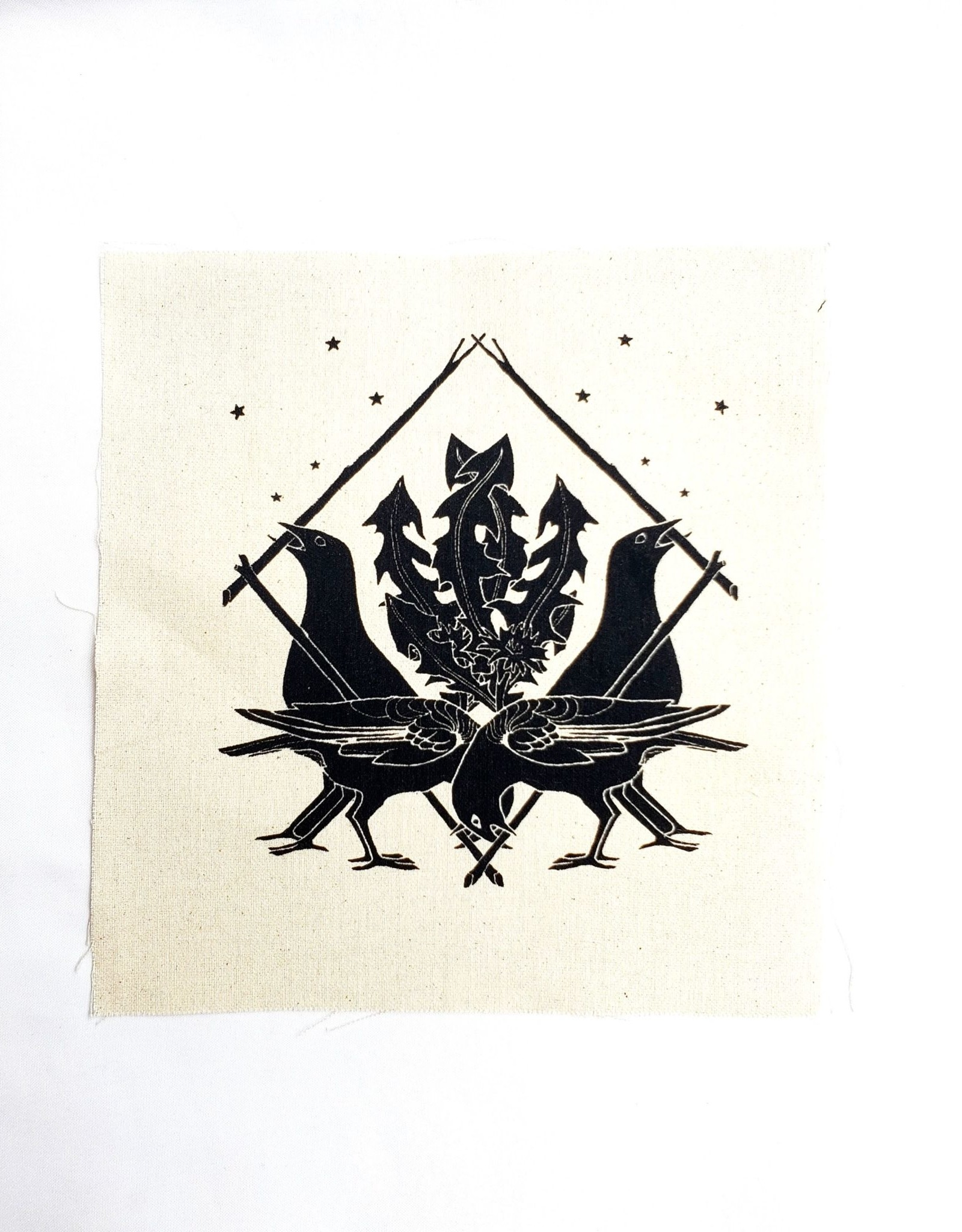 Crow Shield canvas patch - by Abacus Corvus