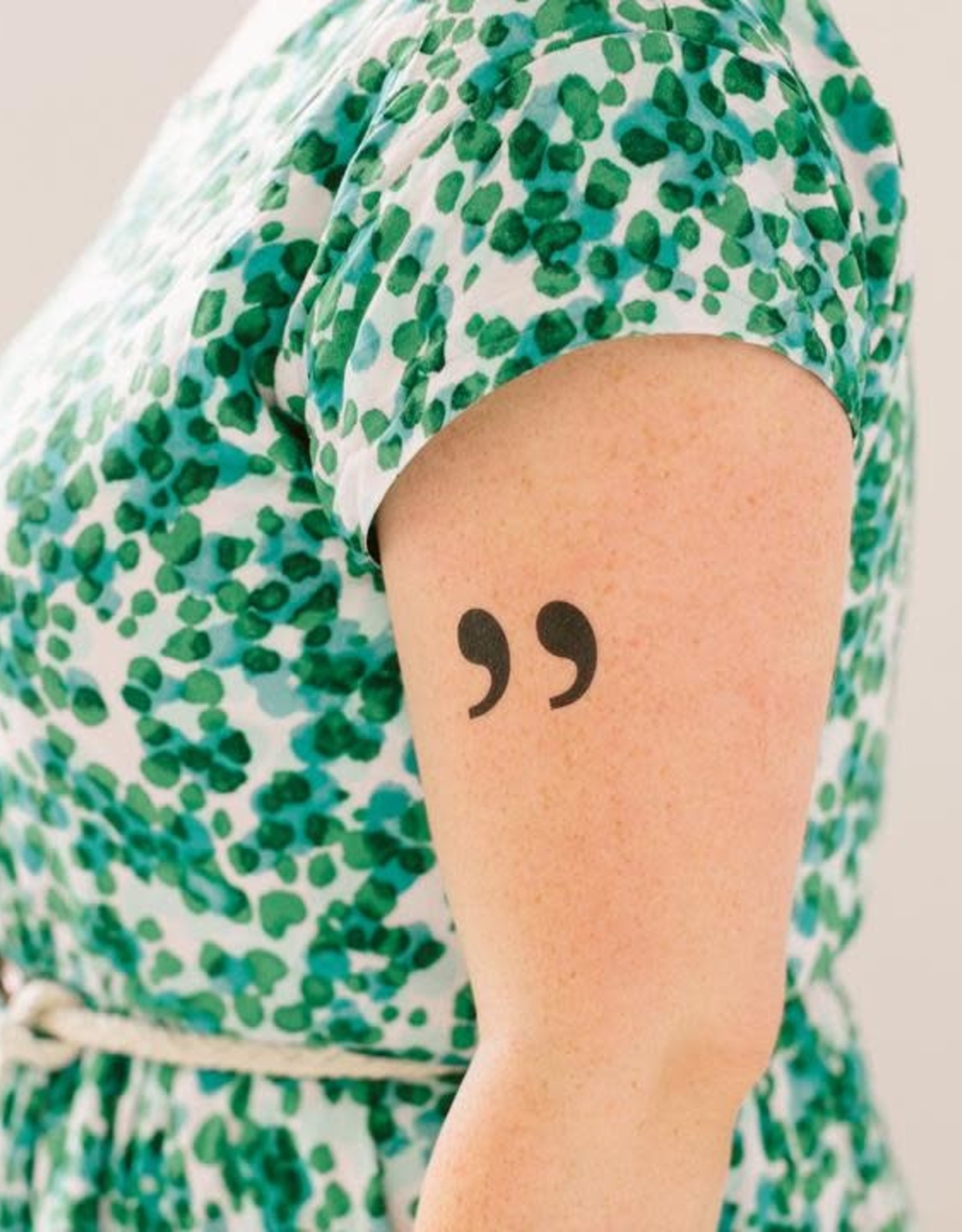 "Tattly ""Quotes"" - Tattly Temporary Tattoos (Pairs)"