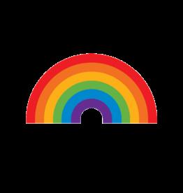 """Tattly """"Rainbow"""" by Jessi Arrington - Tattly Temporary Tattoos (Pairs)"""