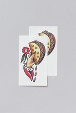 """Tattly """"Taco to Go"""" by Jessi Preston - Tattly Temporary Tattoos (Pairs)"""