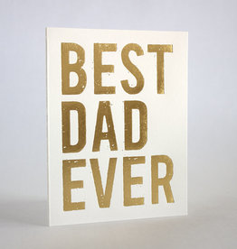 Best Dad Ever Father's Day Greeting Card - Fugu Fugu
