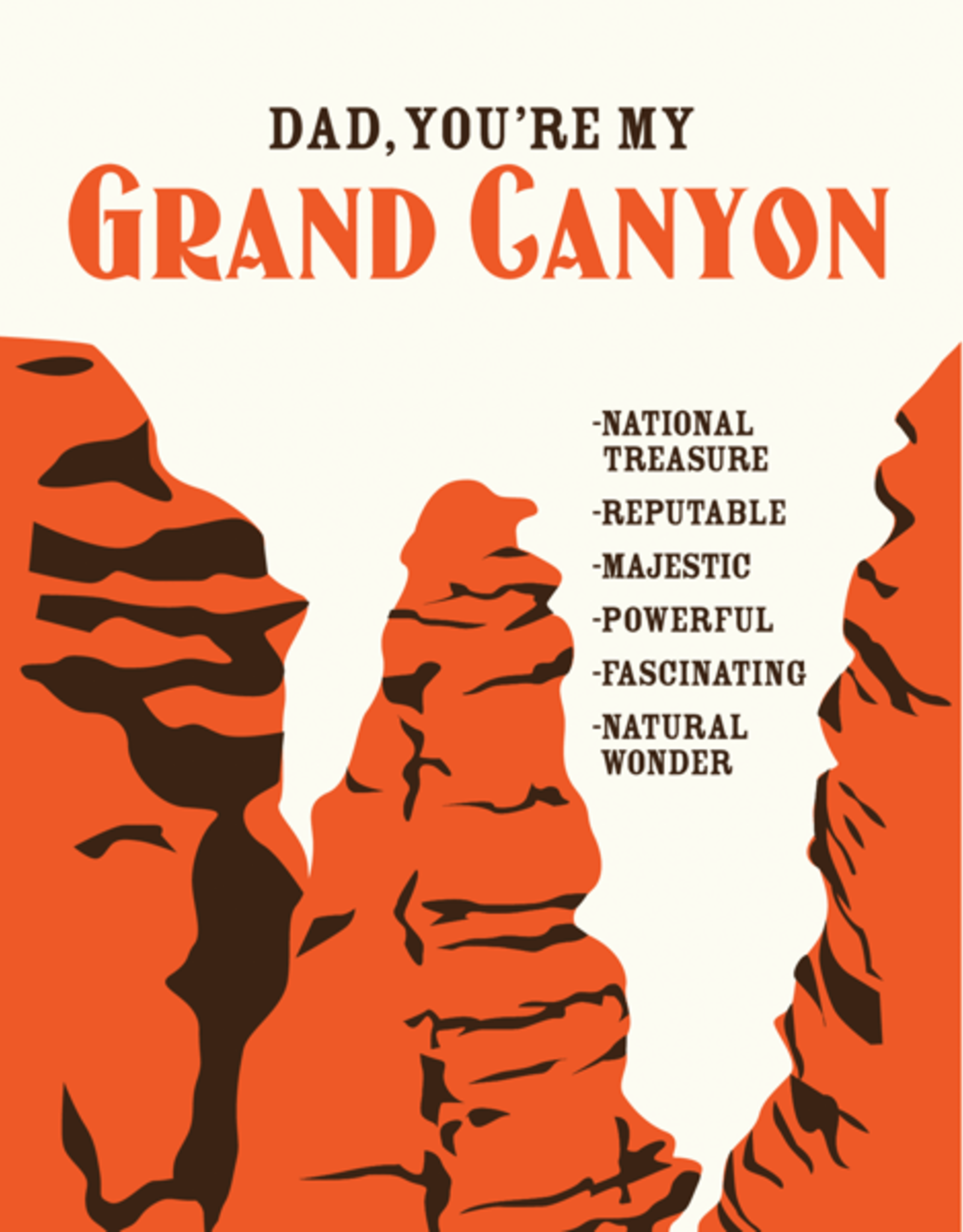 Grand Canyon Father's Day Greeting Card - A Favorite Design