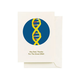 Seltzer DNA Happy Father's Day Greeting Card - Seltzer