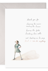 Thank you for Parenting Greeting Card - E. Frances Paper