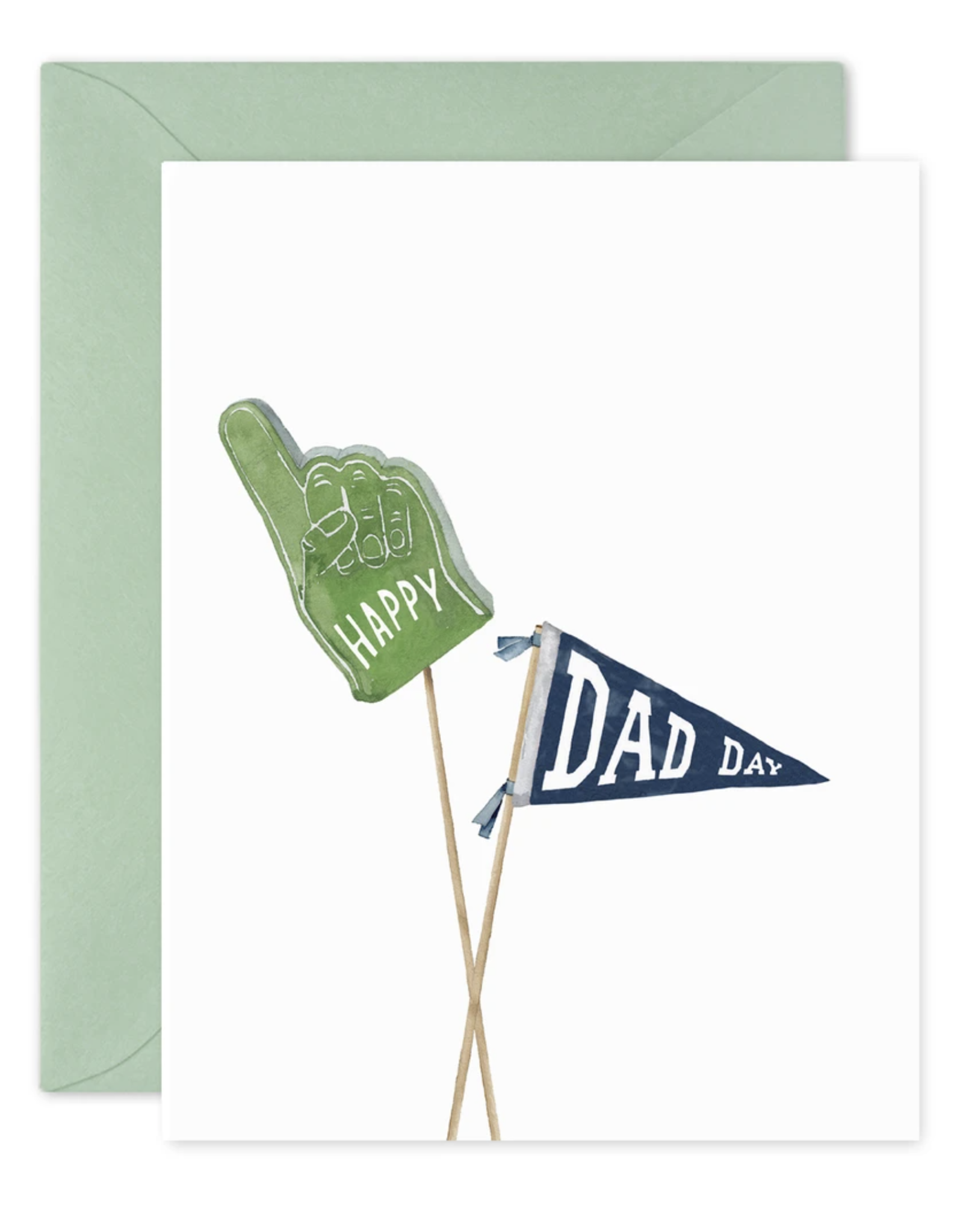 Happy Dad Day Greeting Card - E. Frances Paper
