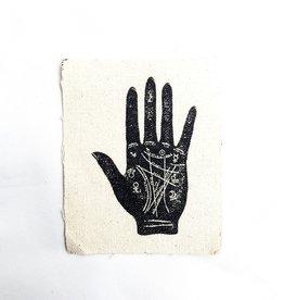 Print Ritual Palm Reader Print Ritual Canvas Patch