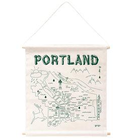 Maptote Portland Wall Hanging