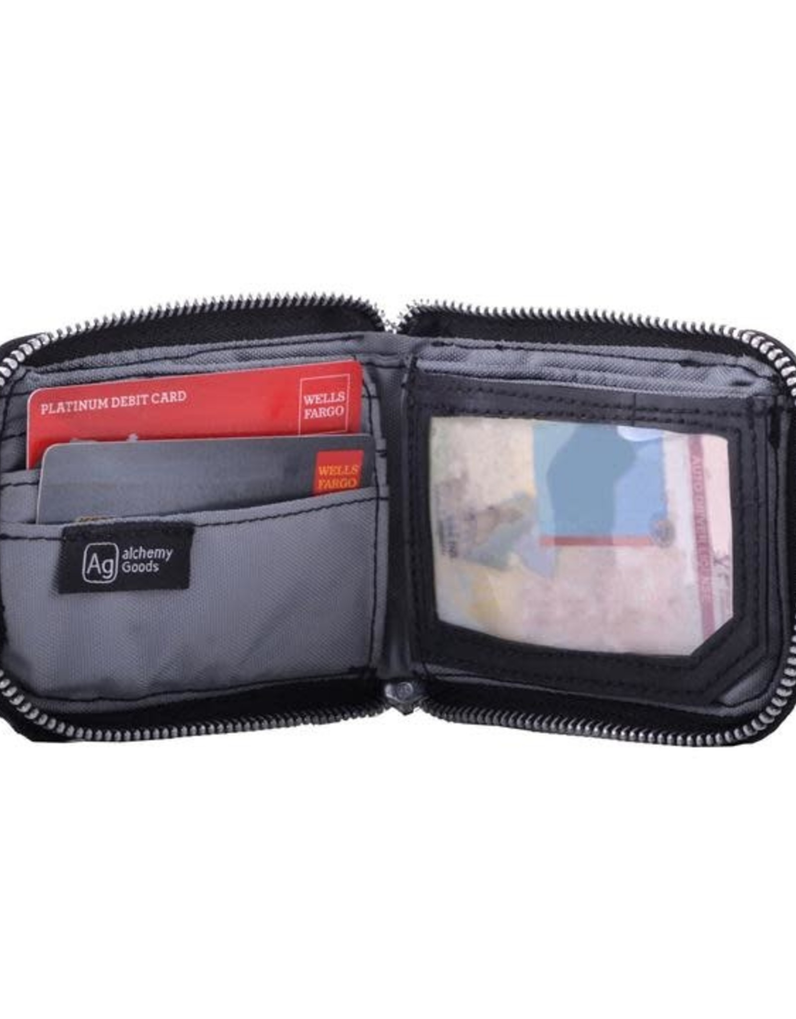 """Phinney"" Bike Tire Bi-fold Wallet by Alchemy Goods"