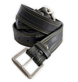 """Ballard"" Bike Tire Tube Belt by Alchemy Goods"