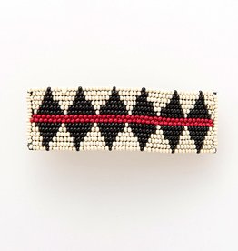 """Ink + Alloy Hair Barrette, Large Triangle Shapes 1"""" X 3.5"""""""