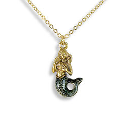 Ornamental Things Mermaid Necklace - Ornamental Things