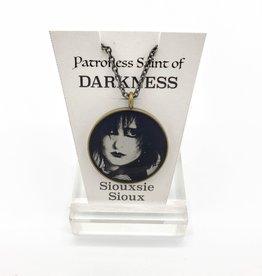 Siouxsie Sioux Patroness Saint Pendant Necklace