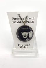 Redux Florence Welch Patroness Saint Pendant Necklace