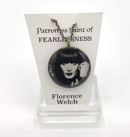 Redux Florence Welch Patroness Saint Pendant Necklace