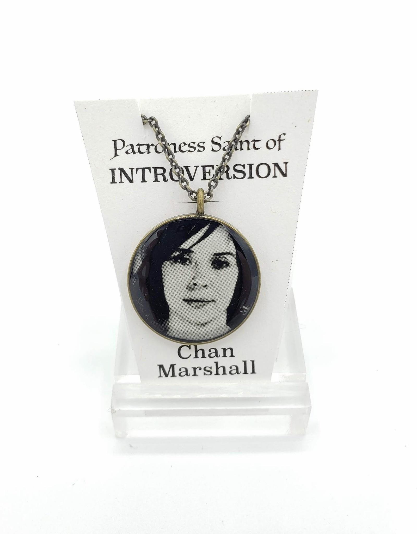 Redux Chan Marshall Patroness Saint Pendant Necklace