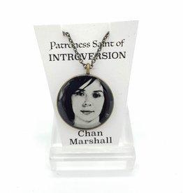 Chan Marshall Patroness Saint Pendant Necklace