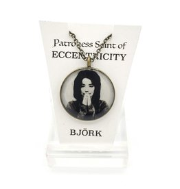 Björk Patroness Saint Pendant Necklace