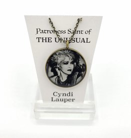 Cyndi Lauper Patroness Saint Pendant Necklace