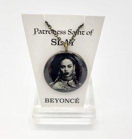 Beyoncé Patroness Saint Pendant Necklace