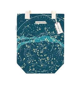 Cavallini Papers Celestial Vintage Print Tote Bag
