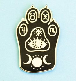 ''Witchcat paw'' Cat Paw Enamel Pin - Bee's Knees