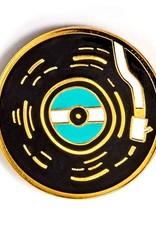 Badgebomb ''Vinyl Record'' Enamel Pin by - Badgebomb