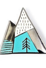 Badgebomb ''Mountains'' Enamel Pin - by Badge Bomb