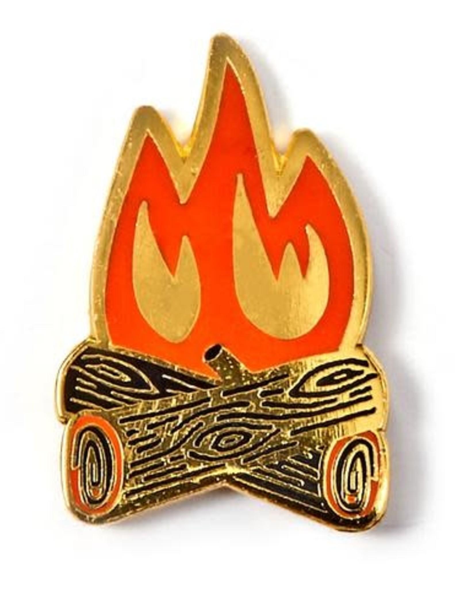 Allison Cole ''Campfire'' Enamel Pin - by Allison Cole
