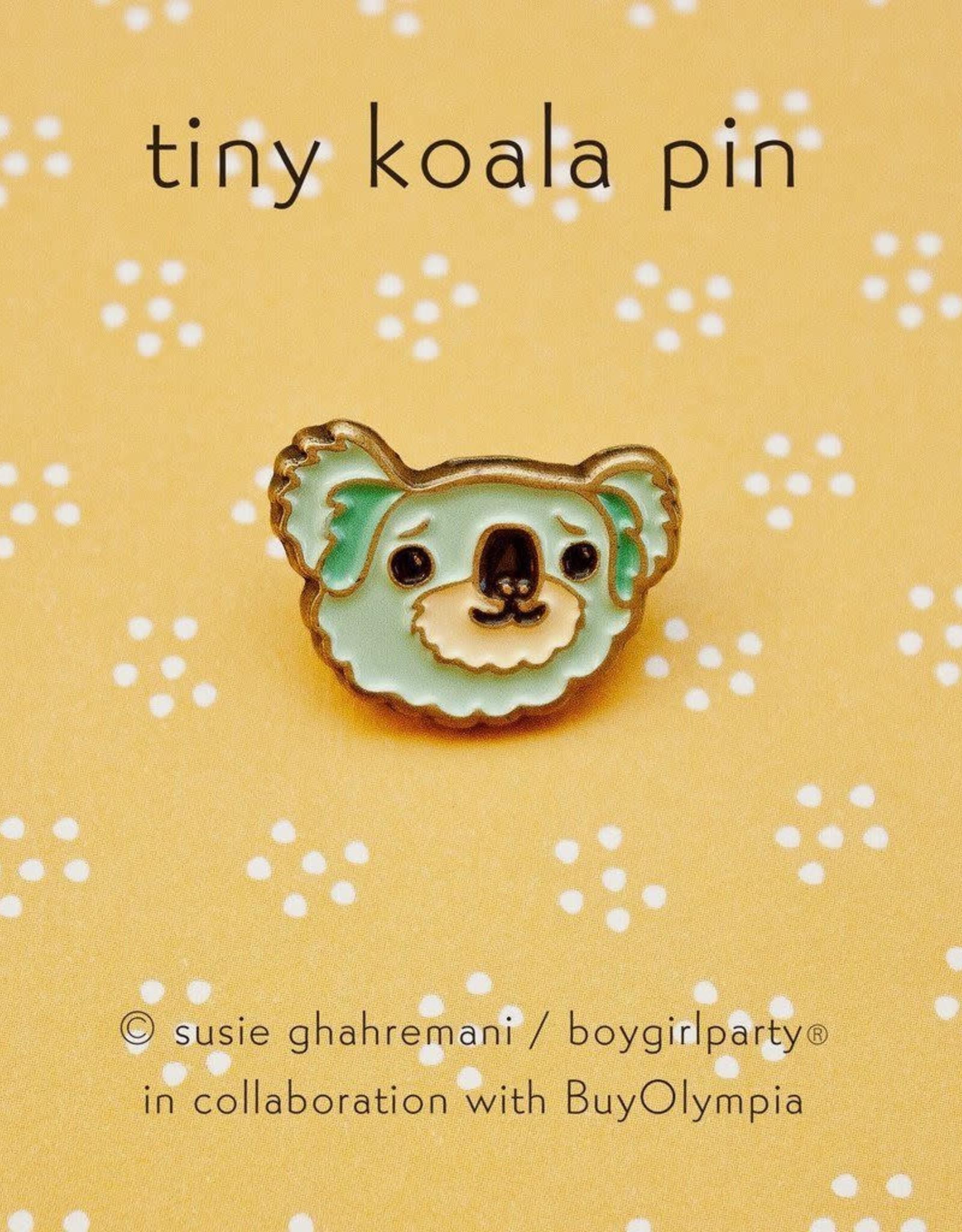 ''Blue Koala'' Enamel Pin - Susie Ghahremani