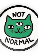 Gemma Correll ''Not Normal Cat'' Enamel Pin by Gemma Correll