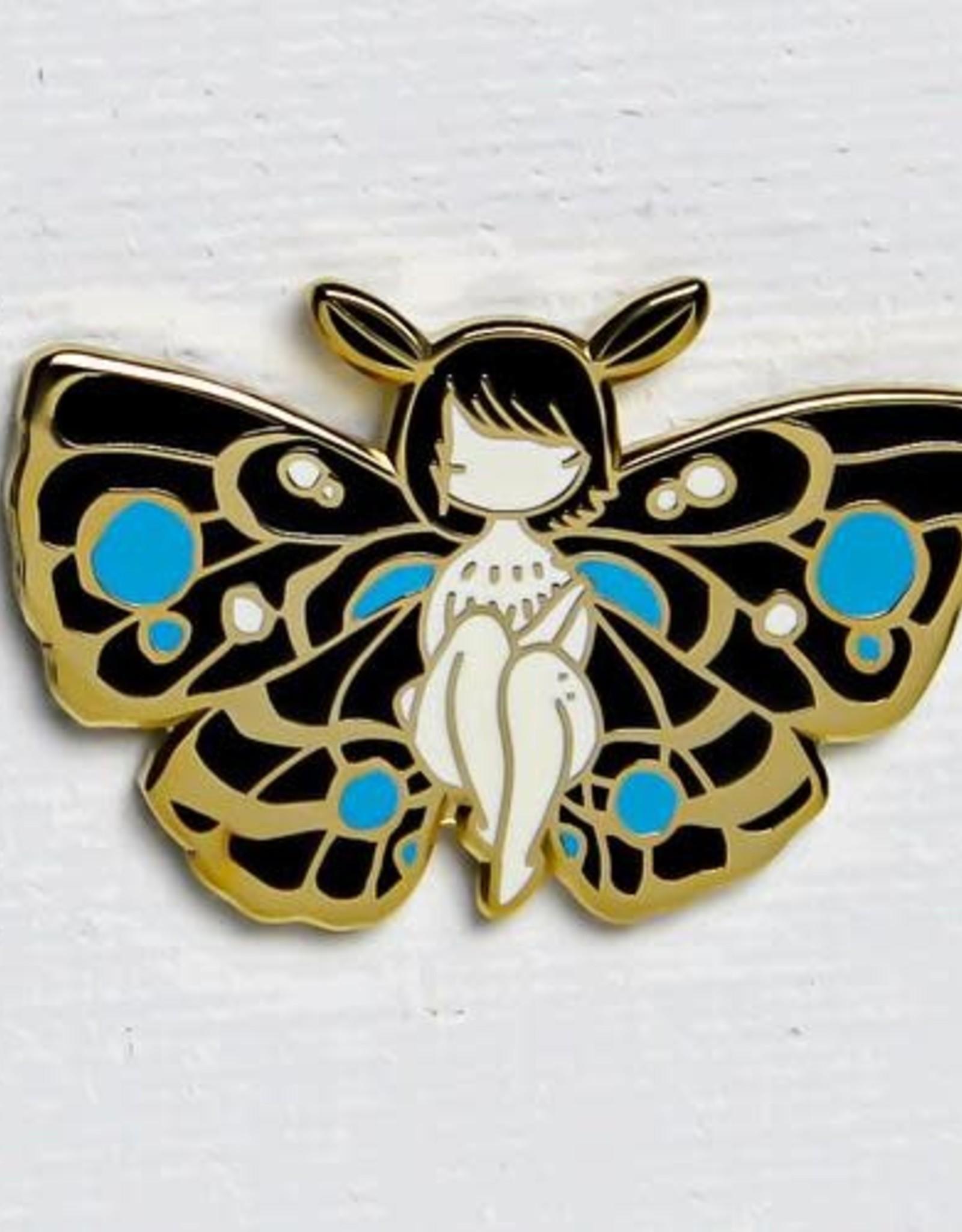 """Stasia Burrington """"Moth Girl"""" Enamel Pin  - Stasia Burrington"""