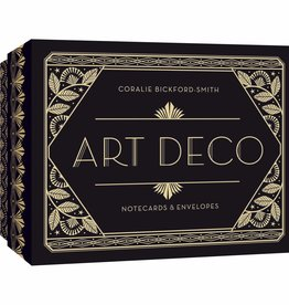 Art Deco Notecards and Envelopes by Coralie Bickford-Smith