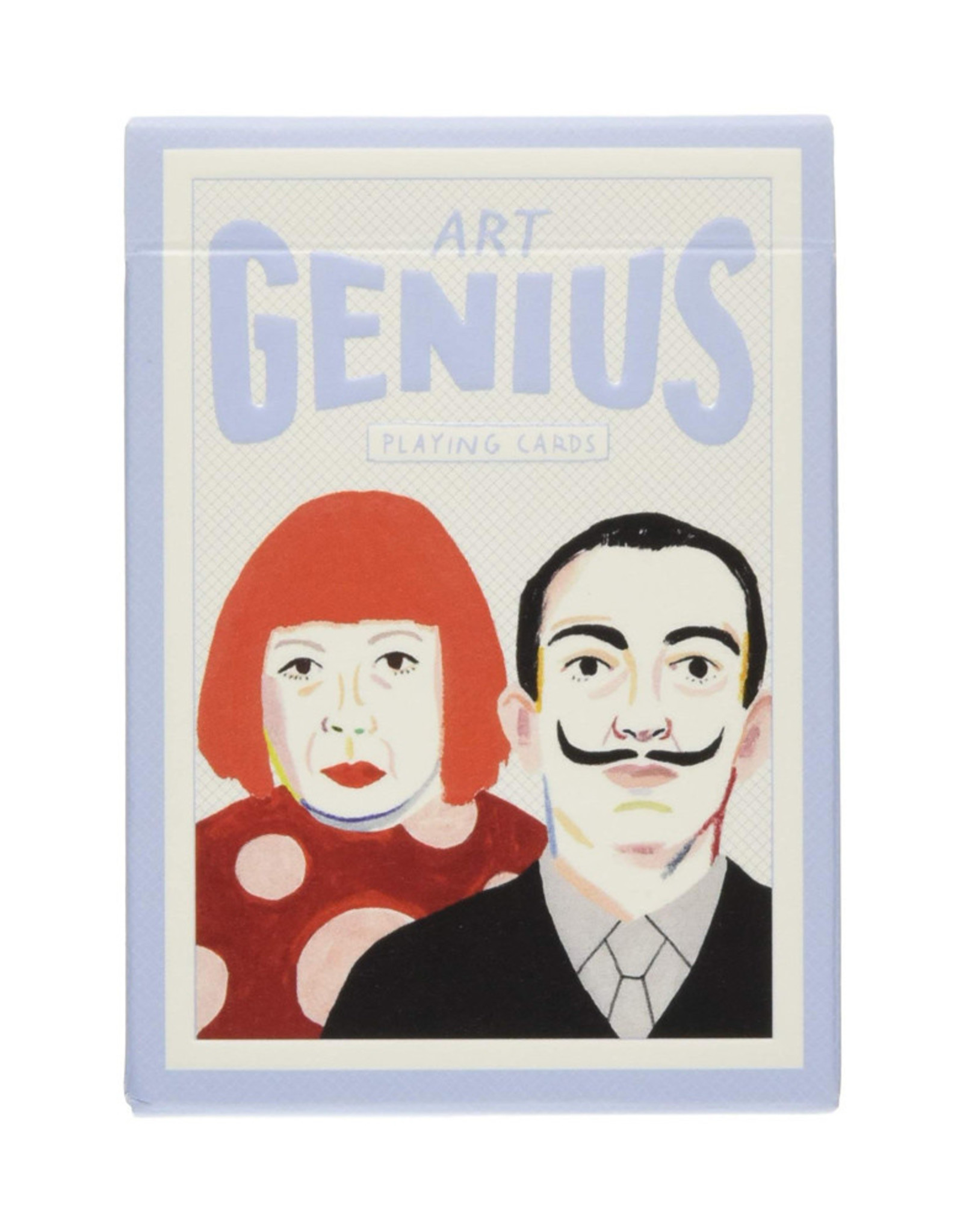 Art Genius Playing Cards illustrated by Rebecca Clarke
