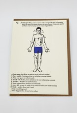 Anatomy of a Dad Greeting Card Father's Day - A Favorite Design