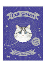 Cat Gurus Wisdom From the World's Most Celebrated Felines by Mister Peebles (Helen McGinley) 50 Cards