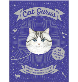 Cat Gurus Wisdom From the World's Most Celebrated Felines by Mister Peebles